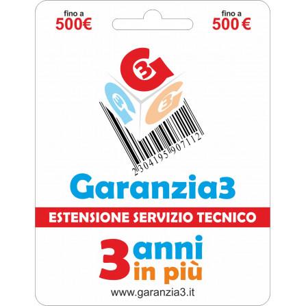 Estensione Garanzia fino a 500€