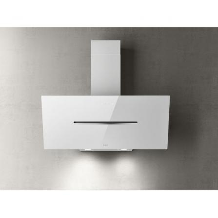 Elica Cappa a Parete Shy S PRF0166935 Vetro Bianco da 90cm