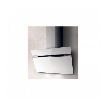 Elica Cappa a Parete Stripe PRF0164805 Vetro Bianco da 80cm