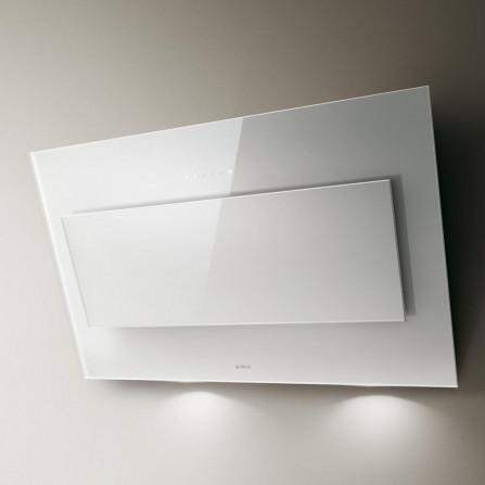 Elica Cappa a Parete Vertigo PRF0079554C Vetro Bianco da 90cm