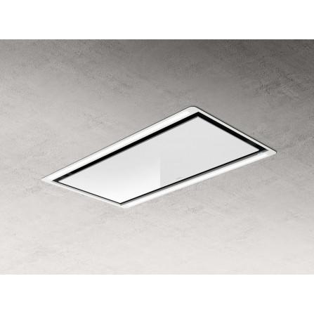 Elica Cappa a Soffitto Hilight H30 PRF0146246A Bianco da 100x50cm
