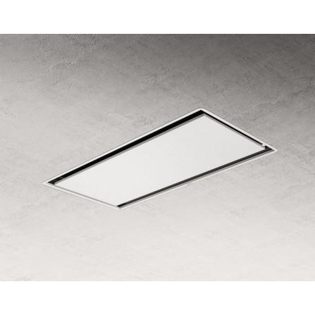 Elica Cappa a Soffitto Illusion H16 PRF0147727A Bianco da 100x50cm