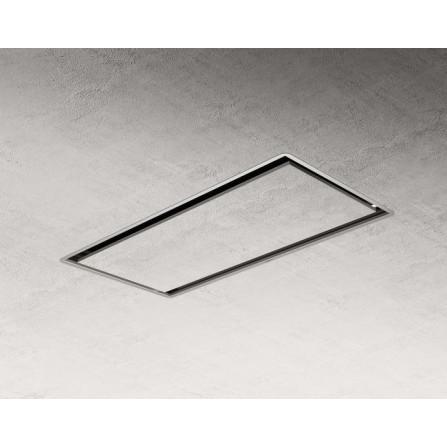 Elica Cappa a Soffitto Illusion H30 Paint PRF0146250A Verniciabile da 100x50cm