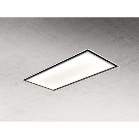 Elica Cappa a Soffitto Skydome H16 PRF0147735A Bianco da 100cm