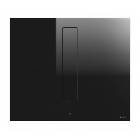Elica Piano Cottura ad Induzione Nikolatesla Fit PRF0167054 Vetro Nero da 72cm