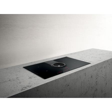 Elica Piano Cottura ad Induzione Nikolatesla PRF0120977A Vetro Nero da 83cm