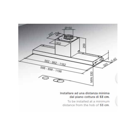 Congelatore verticale a pozzo 75cm bianco A+ 185L Smeg - CO202