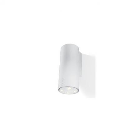 Faber Cappa a Parete Cylindra Plus Gloss 335.0492.565 Bianco da 37cm