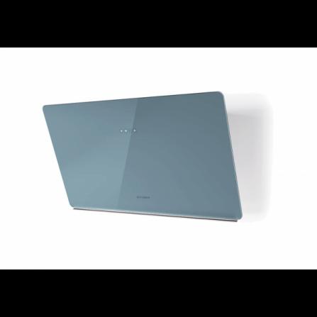 Faber Cappa a Parete Glam Light Zero Drip 330.0615.675 Vetro Blu Polvere da 80cm