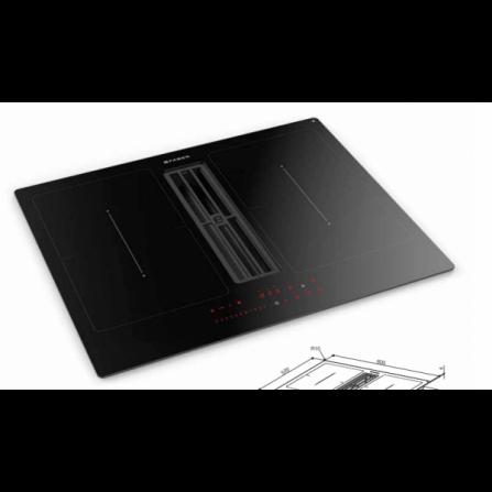 Faber Piano Cottura ad Induzione Galileo Smart BK con KIT 340.0627.228 Vetro Nero da 60cm  Spedizione immediata
