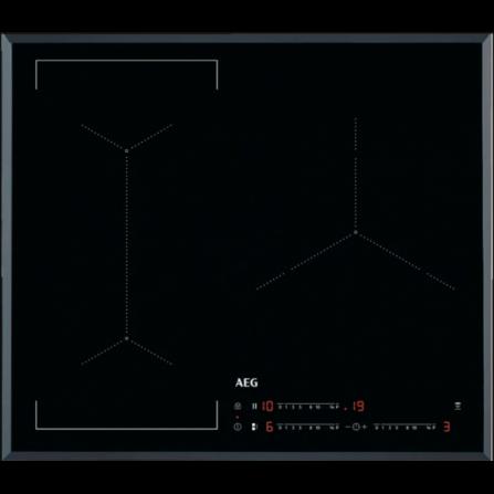 AEG Piano Cottura ad Induzione IKE63443FB Nero da 60cm