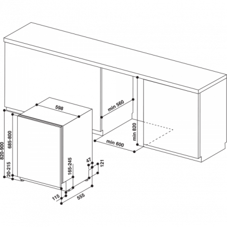 Lavastoviglie iQ700 a scomparsa totale 60 cm 13 Coperti A+++ SN678X36TE Siemens