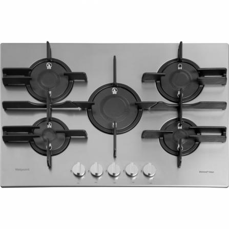 Hotpoint Ariston Piano Cottura a Gas FTGHL 751 D/EX/HA Inox Diamond Clean da 75cm