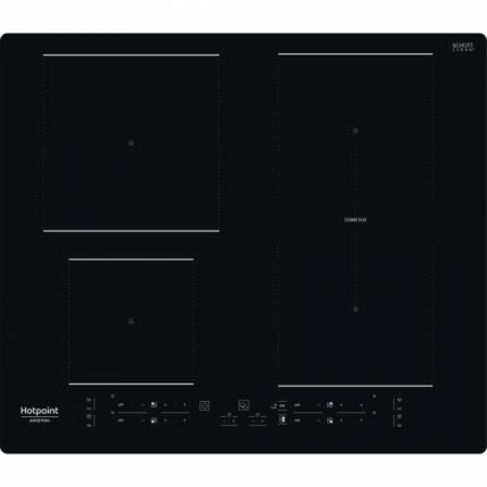 Hotpoint Ariston Piano Cottura ad Induzione HB 4860B NE Nero da 60cm