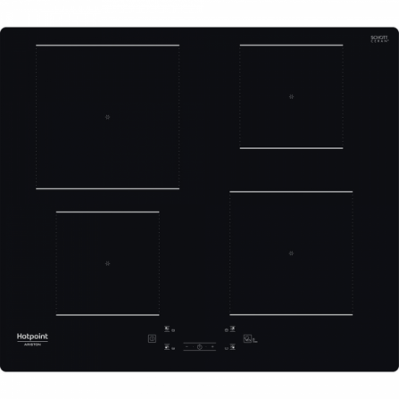Hotpoint Ariston Piano Cottura ad Induzione HQ 2260S NE Nero da 60cm