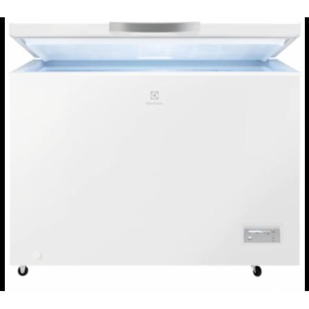 Electrolux LCB3LF31W0 Congelatore a Pozzetto Orizzontale 308 Litri Classe Energetica A+ Low Frost - Pronta Consegna