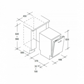 Lavatrice a carica frontale A+++-30% 8 kg WAT243H8II Bosch