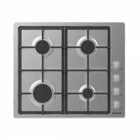 Candy Piano Cottura a Gas CHG6LX - 33801967 Inox da 60cm