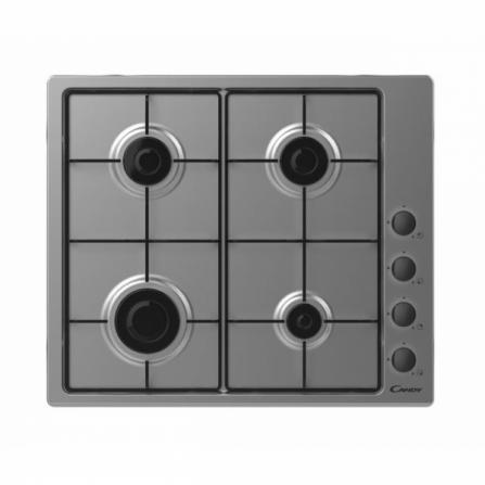 Candy Piano Cottura a Gas CHW6LBX 33801976 Inox da 60cm - Pronta Consegna