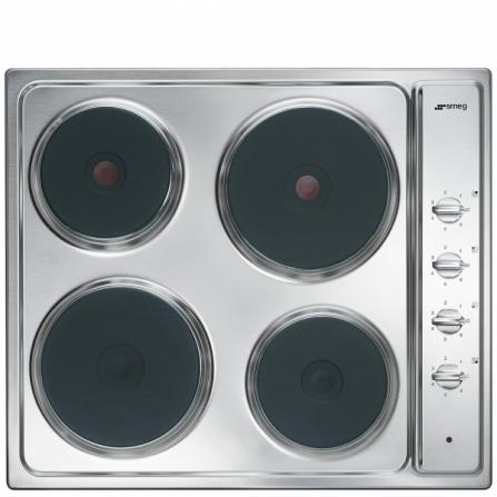 Smeg Piano Cottura ad Induzione SE435S Acciaio Inox da 60cm - Pronta Consegna