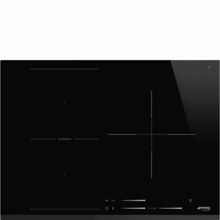 Smeg Piano Cottura ad Induzione SI1M7733B Nero da 70cm