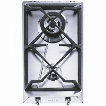Smeg Piano Cottura a Gas SRV532GH3 Acciaio Inox da 30cm