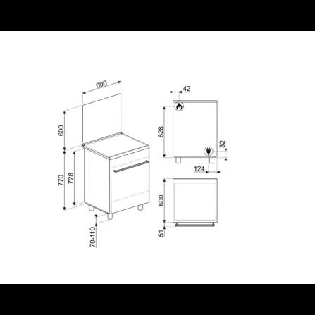 Lavatrice carica frontale A+++ -30% 8 kg 1200 giri WAT24438IT Bosch