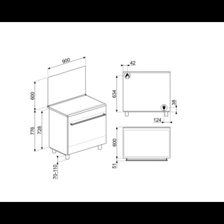 Lavatrice Slim TurboWash™ 7 kg Classe energetica A+++ -10% Oblò Ring Cromato F2J7HN1W LG
