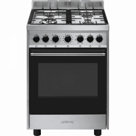 Smeg Cucina a Gas B601GMXI9 Acciaio Inox da 60cm
