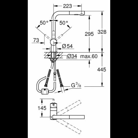 Lavastoviglie a incasso Classe A+ ESF5206LOW Elextrolux