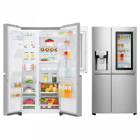 LG Frigorifero Side by Side GSX960NSVZ Total no Frost Classe A++ - Pronta Consegna