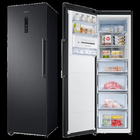 Samsung Congelatore Monoporta Verticale RZ32M7535B1/ES Nero Classe A++ - Pronta Consegna