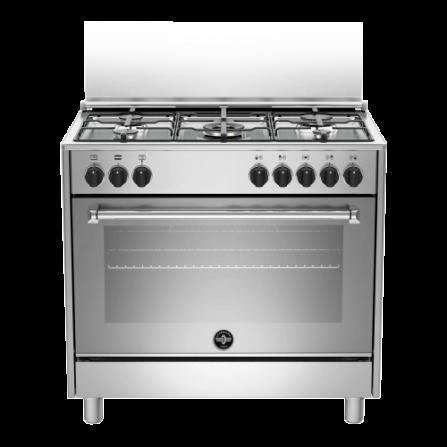 La Germania Cucina AMN965EXV 90x60 Inox 5 Fuochi