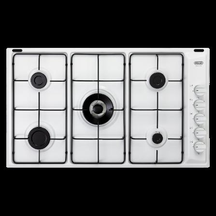 De Longhi Piano Cottura a Gas BL59DD 90cm Bianco 5 Fuochi - Pronta Consegna