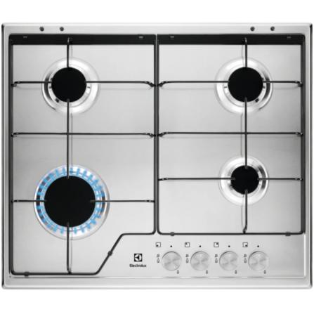 Electrolux KGS 6424 SX piano cottura Incasso Gas Acciaio inossidabile
