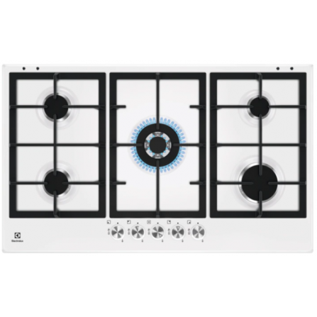 Electrolux KGS9536W - KGS 9536 W- Piano cottura 5 fuochi da 90 cm PRO | Slim Profi le 2.0