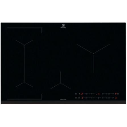 Electrolux Piano Cottura ad Induzione EIL83443 80cm Vetro Nero