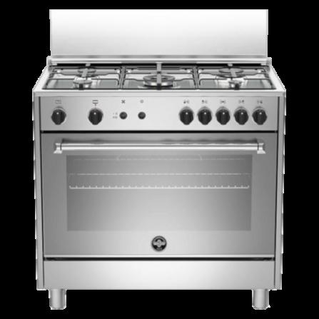 La Germania Cucina AMN965GXV 90x60 Forno a Gas Inox