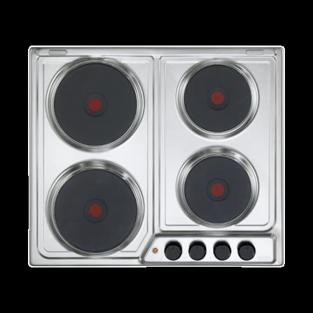 De Longhi Piano Cottura Elettrico FFI46ER 60cm Inox - Pronta Consegna
