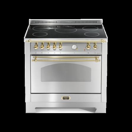 Lofra Cucina RSG96MFT/5I Dolce Vita Acciaio 90X60