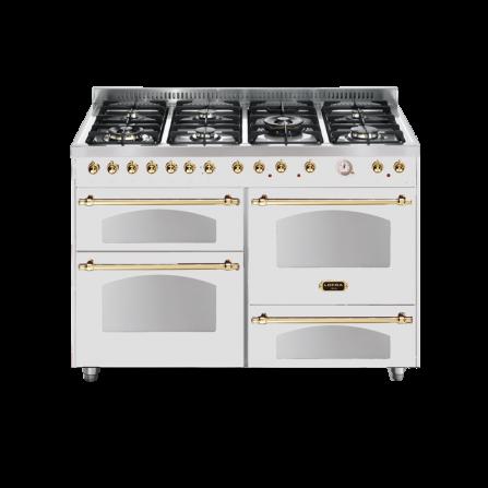 Lofra Cucina RBP126SMFT+MFT/2AEO Dolce Vita Bianco Perla 120X60