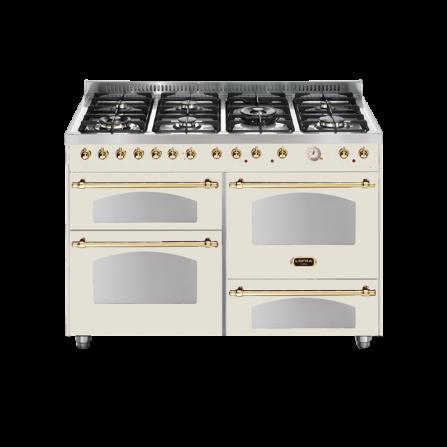 Lofra Cucina RBI126SMFT+MFT/2AEO Dolce Vita Avorio 120X60