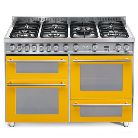Lofra Cucina PG126SMFET+MFT/2AEO Giallo 120X60