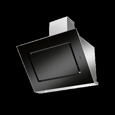 Lofra Cappa da Parete VIOLET 90cm Vetro Nero 90x50 Cm 800m3/H