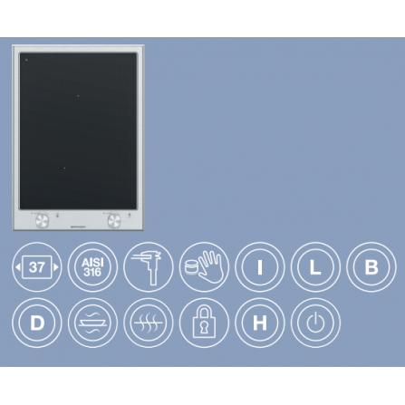 Barazza Piano Domino Induzione 1PTIID Thalas incasso da 37- Richiedi Preventivo Personalizzato
