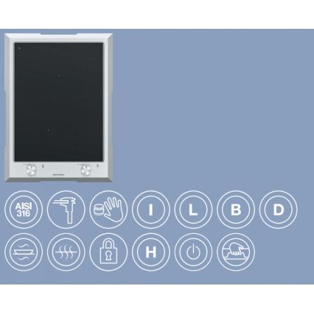 Barazza Piano Induzione Domino 1PTFID Thalas freestanding da 40- Richiedi Preventivo Personalizzato