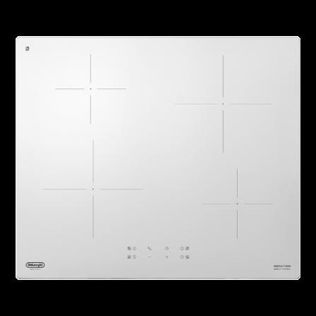 De Longhi Piano Cottura ad Induzione PIB62 60cm Vetro Bianco