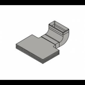 Falmec Accessorio KACL.951 Filtro carbone alveolare h60 mm