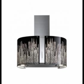 Falmec Accessorio Mirabilia Round KACL.217 Vetro Manhattan - Mirabilia Round, parete 67 cm