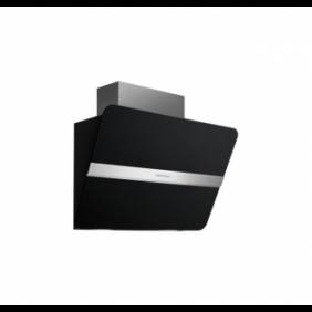 Falmec Flipper NRS CFPN85.E2P2 ZZZQ490F Parete 85 cm, nero satinato, 800 m3/h